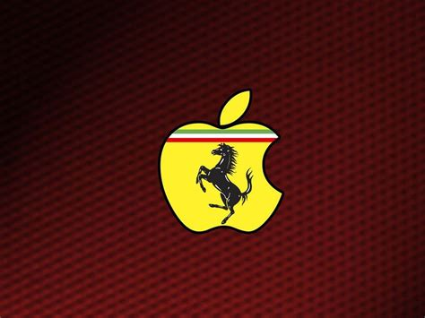 The ferrari symbol is square with the note 'black prancing horse'. Ferrari Logo Wallpapers - Wallpaper Cave