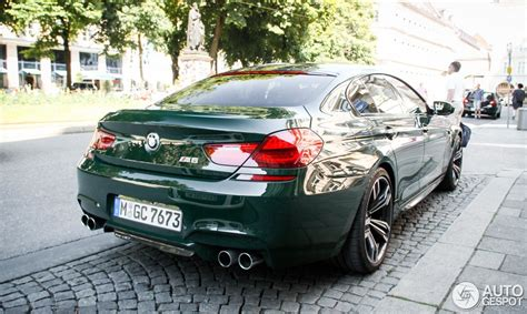 Dark Green Bmw M6 Gran Coupe Is Utter Uniqueness