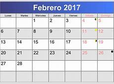 Calendario Febrero 2017 Related Keywords Calendario