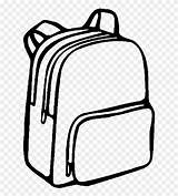 Svg Backpack Drawing Library Clipart Bag Coloring Pages Pinclipart Report sketch template