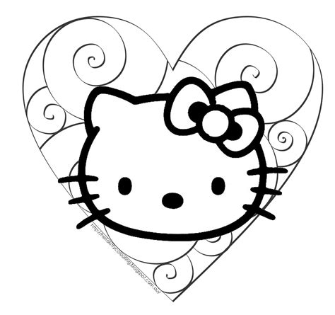 Coloring Pages Hello Kitty Princess Coloring Home