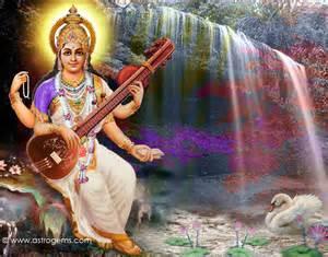 Saraswati Background Desktop