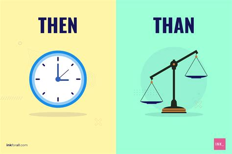 Than vs. Then: How to Remember the Difference - INK Blog