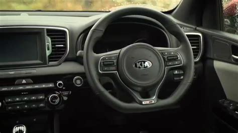 kia sportage gt    gdi interior youtube