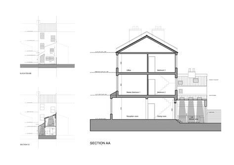 Architect designed kitchen extension Clapham North Lambeth SW4