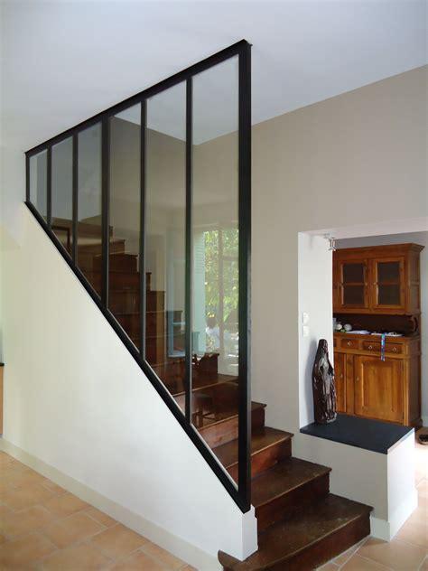 verriere en bois verri 232 re d int 233 rieure pour une mont 233 e d escalier