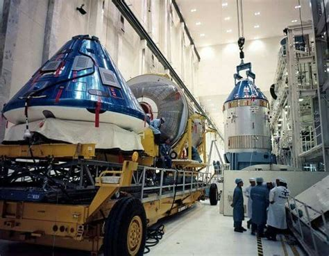 Apollo 12 And Apollo 11 At The Vehicular Assembly Building