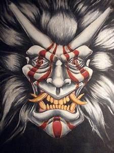 Demon Japonais Dessin :  ~ Maxctalentgroup.com Avis de Voitures