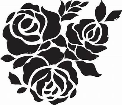 Spray Stencil Paint Painting Designs Stencils Rose