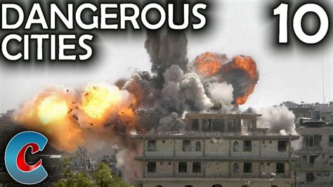 Top 10 Most Dangerous Cities In The World  Top 10 Hub