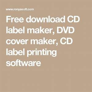 17 best ideas about cd labels on pinterest photography With best free label printing software