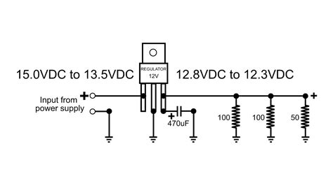 Vdc Voltage Regulator How Does Function Circuit