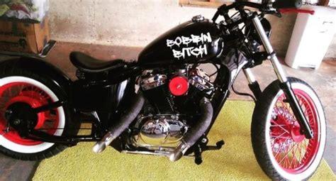 Custom Bobber Motorcycle Honda Vtc 600