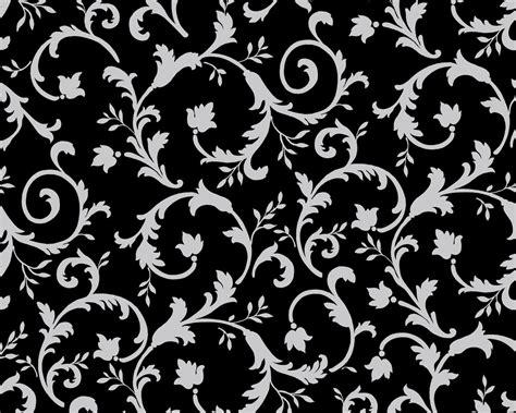 Tapete Schwarz Muster by Gullar Sahir