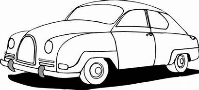 Coloring Pages Cars Classic Mini Sports 1940