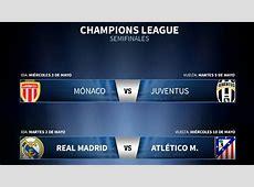 Real Madrid Vs Atletico Juventus Vs Monaco In Champions
