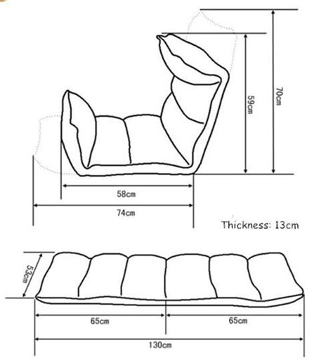 2017 living room furniture 5 step folding floor seating