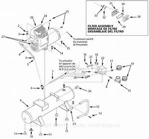 Campbell Hausfeld Wl510008 Parts Diagram For Air