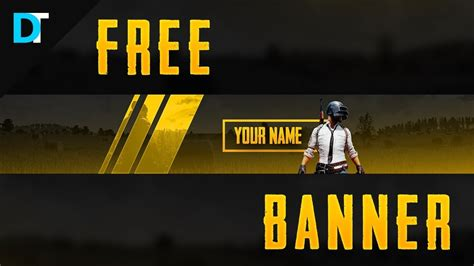 Free Playerunknown's Battleground (pubg) Banner Templat