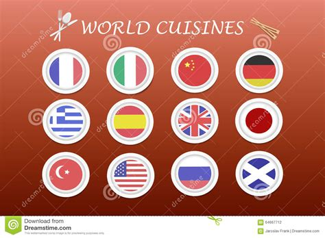 cuisines design industries cuisines vector stock vector image 64667712