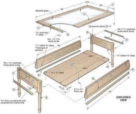 Wooden Coffee Table Plans diywoodtableplans