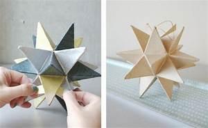 Sterne Aus Papier Falten : 123 super ideen weihnachtssterne basteln ~ Buech-reservation.com Haus und Dekorationen