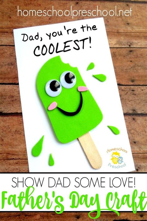 easy diy fathers day craft  kids   dads