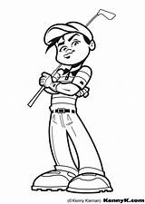 Golf Coloring Pages sketch template