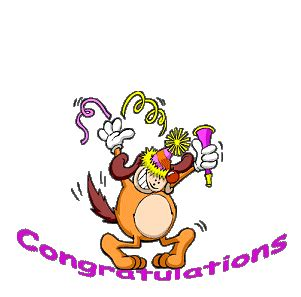Page 3  Congratulations  Animated Glitter Gif Images