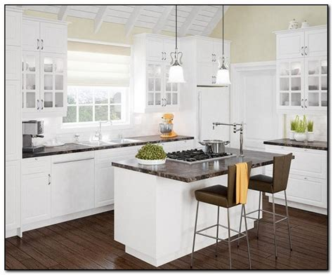 best cabinet color for small kitchen best color for kitchen cabinets in small cabinets matttroy 9105
