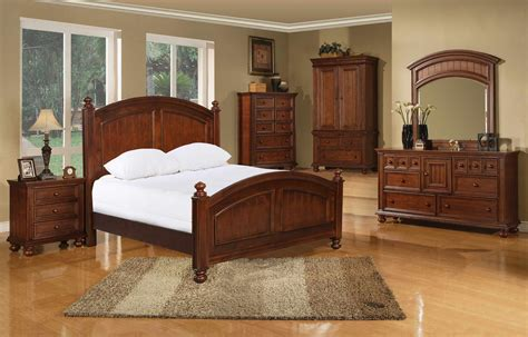 Cape Cod Panel Bed Suite In Chocolate By Winners Only