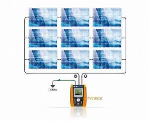 Pvcheck Esquema De Conexionado Para La Medida Del Aislamiento En Una Planta Fotovoltaica Sin