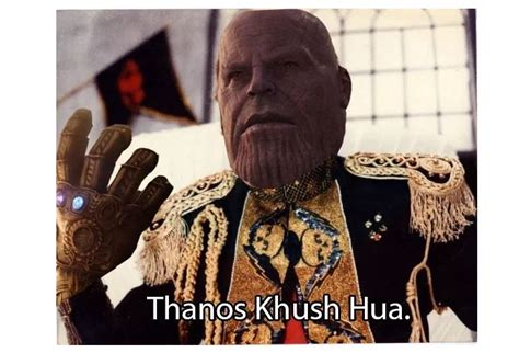 thanos memes india hilarious understand