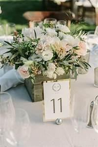 comment decorer le centre de table mariage With chambre bébé design avec fleurs pour mariage champetre