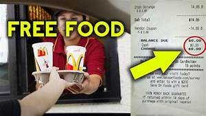 TOP 5 BEST Fast Food Hacks - Get FREE FOOD From ANY Fast ...