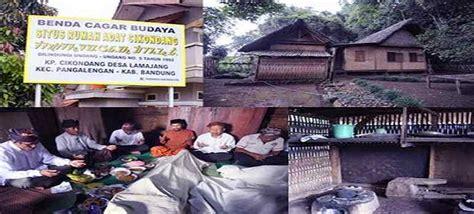 kampung adat cikondang info wisata sejarah budaya khas