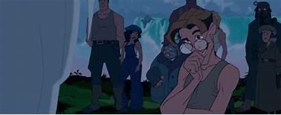 Atlantis Milo Disney Kida Atlantean Meets Thatch