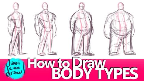 How To Draw Different Body Types