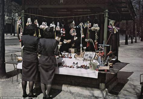 Photos Of Paris  Occupied France Under German Rule