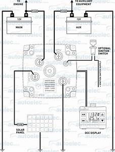 Intervolt 12v 25a Amp Dc To Dc Charger Mppt Solar  U0026 Dual