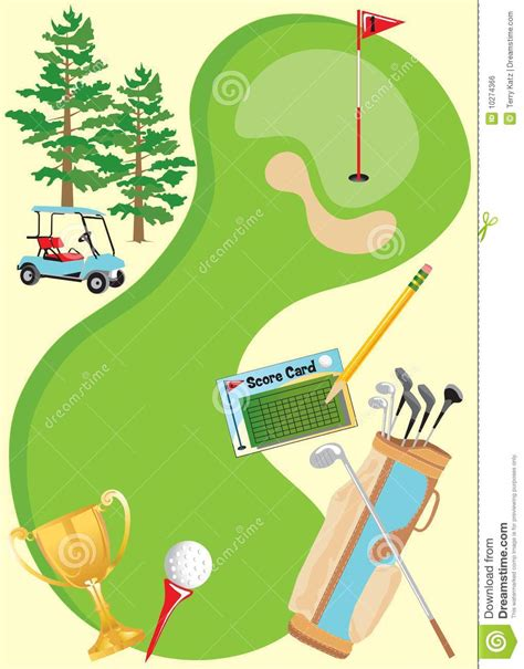 golf invitation templates