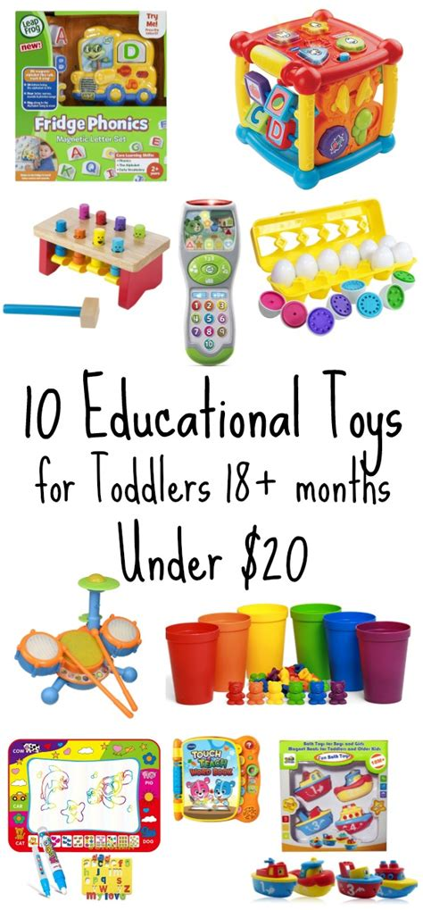 10 Educational Toys For Toddlers Under $20 Stem Gifts