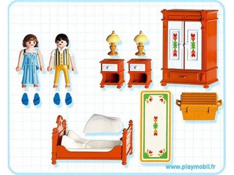 chambre des parents playmobil playmobil parents et chambre traditionnelle 5319