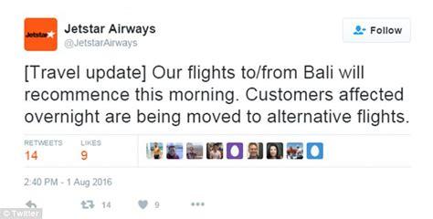 bali flights to resume after reports mt rinjani ash cloud