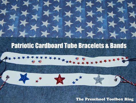 easy patriotic cardboard bracelet or band 913   Patriotic Bands 1024x780
