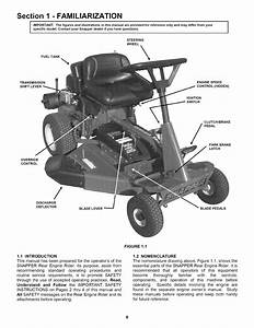 Snapper 281123bv User Manual Rear Engine Riding Mower