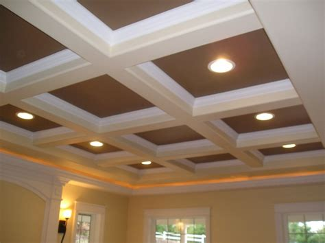 Box Beam Ceiling by Box Beam Ceiling In White My Millwork Designs And Ideas
