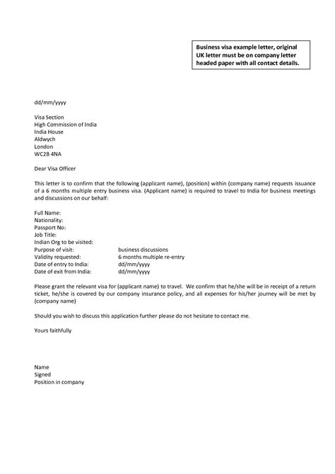 Business Letter Template Uk | fee schedule template