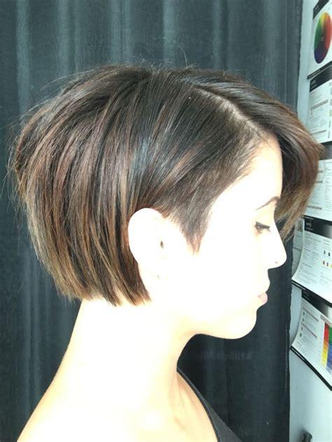 Bob Haircut with Undercut