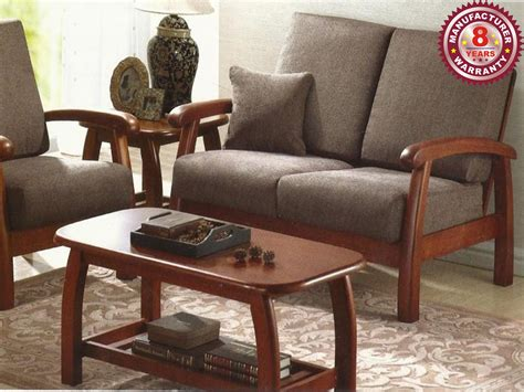 Solid Wood Sofa Set by Solid Wood Sofa Set Relaxing Living Room Solid Wood Sofa
